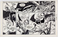 Original Comic Art:Comic Strip Art, Gil Kane Star Hawks Sunday Comic Strip Original Art dated5-15-78 (NEA, 1978)....