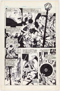 Original Comic Art:Panel Pages, Howard Chaykin Star*Reach #5 Story Page 1 Original Art (Star*Reach, 1976)....