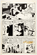 Original Comic Art:Panel Pages, Wally Wood T.H.U.N.D.E.R. Agents #15 Story Page 10 Original Art (Tower, 1967)....