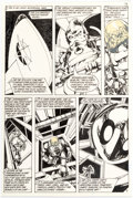 Original Comic Art:Panel Pages, John Byrne Space: 1999 #6 Story Page 3 Original Art(Charlton, 1976)....