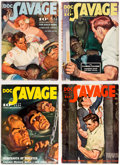 Pulps:Adventure, Doc Savage Group of 4 (Street & Smith, 1939) Condition: Average FN-.... (Total: 4 Items)