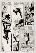 Original Comic Art:Panel Pages, Gene Colan and Frank Giacoia Captain America #125 Story Page20 Original Art (Marvel, 1970)....