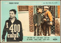 """Movie Posters:Foreign, The 400 Blows (Cineriz, 1959) Fine+ on Linen. Italian Photobusta (27"""" X 19""""). Foreign.. ..."""