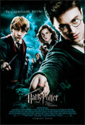 """Movie Posters:Fantasy, Harry Potter and the Order of the Phoenix (Warner Brothers, 2007) Rolled, Very Fine. British One Sheet (27"""" X 40"""") DS Advanc..."""