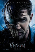 """Movie Posters:Horror, Venom (Columbia, 2018) Rolled, Very Fine+. One Sheet (27"""" X 40"""") DS Advance. Horror.. ..."""