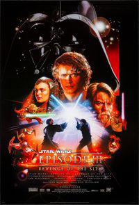 """Star Wars: Episode III - Revenge of the Sith (20th Century Fox, 2005) Rolled, Very Fine+. One Sheet (27"""" X 40""""..."""