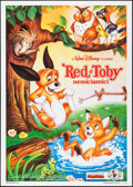 """Movie Posters:Animation, The Fox and the Hound & Others Lot (Buena Vista, 1981). Folded,Very Fine-. Italian 2 - Foglis (2) (39.25"""" X 55"""") & Italian ...(Total: 3 Items)"""