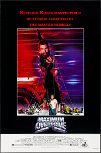 "Maximum Overdrive (DEG, 1986) Rolled, Very Fine. One Sheets (6) Identical (27"" X 41""). Science Fiction. ... (T..."