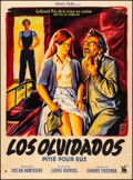 "Movie Posters:Foreign, Los Olvidados (Heraut Films, 1950) Fine/Very Fine on Linen. French Grande (46"" X 62.25"") Boris Grinsson Artwork. Foreign. ..."