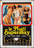 """Movie Posters:Foreign, Perversions & Other Lot (CRC, 1976). Folded, Fine/Very Fine. Italian 2 - Foglis (2) (39.25"""" X 55""""). Enzo Sciotti Artwork. Fo... (Total: 2 Items)"""