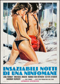 "Movie Posters:Foreign, Women Without Innocence & Other Lot (Avis Film, 1979). Folded, Fine/Very Fine. Italian 2- Fogli (39.25"" X 55"") & Italian 4 -... (Total: 2 Items)"