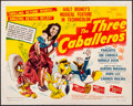 """Movie Posters:Animation, The Three Caballeros (RKO, 1945). Fine+ on Paper. Half Sheet (22"""" X 28"""") Style A. Animation.. ..."""