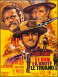 "Movie Posters:Western, The Good, the Bad and the Ugly (United Artists, R-1970s). Folded, Very Fine+. Full-Bleed French Grande (45.75"" X 61"") Jean M..."