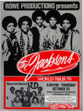 Music Memorabilia:Posters, The Jacksons World Tour '79 State Fairground Coliseum Concert Poster (1979)....