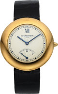 Timepieces:Wristwatch, Chaumet, Fine Aquila Power Reserve, 18K Yellow Gold, Automatic, Ref. 12A, Circa 1990s. ...