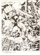 Jack Kirby and Mike Royer Captain America: Partners in Action Signed Limited Edition Print #1073/1500 (1978)