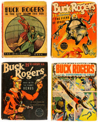 Buck Rogers Big Little Book Group of 5 (Whitman, 1934-40) Condition: Average VG.... (Total: 5 Comic Books)