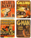 Big Little Book:Miscellaneous, Spy Related Big Little Book Group of 8 (Whitman, 1935-39) Condition: Average VG-.... (Total: 8 Comic Books)