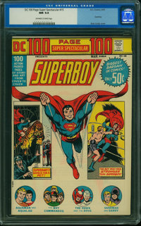 DC 100 Page Super Spectacular #15 (DC, 1973) CGC NM 9.4 Off-white to white pages