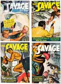 Pulps:Adventure, Doc Savage Group of 6 (Street & Smith, 1942) Condition: Average FN-.... (Total: 6 Comic Books)