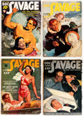 Pulps:Adventure, Doc Savage Group of 4 (Street & Smith, 1938) Condition: Average FN-.... (Total: 4 Comic Books)