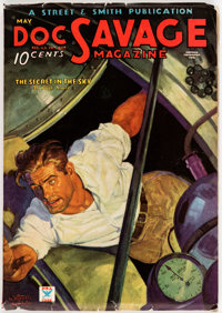 Doc Savage - May 1935 (Street & Smith) Condition: FN