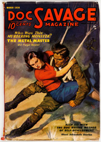 Doc Savage - March 1936 (Street & Smith) Condition: FN-