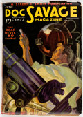 Pulps:Hero, Doc Savage - June 1935 (Street & Smith) Condition: VG+....