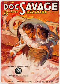 Doc Savage - July 1936 (Street & Smith) Condition: FN