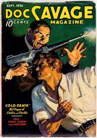 Doc Savage #1936-09 (Street & Smith, 1936) Condition: FN+
