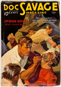 Pulps:Hero, Doc Savage - August 1935 (Street & Smith) Condition: VG+....