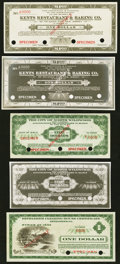 Obsoletes By State:New Jersey, New Jersey and Pennsylvania Depression Scrip Plus Specimens.. Atlantic City, NJ- Kents Restaurant & Baking Co. $1; $1 ND... (Total: 9 items)