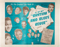 Miscellaneous:Broadside, Rhythm and Blues Revue (Studio Films, 1955)....