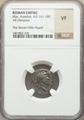 Ancients:Ancient Lots , Ancients: ANCIENT LOTS. Roman Imperial. Ca. AD 138-192. Lot ofthree (3) AR denarii. NGC VF.... (Total: 3 coins)
