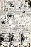 Original Comic Art:Panel Pages, Dick Giordano, Neal Adams, and Joe Barney Wonder Woman #220Story Page 5 Original Art (DC, 1975)....