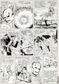 Original Comic Art:Panel Pages, Don Heck and Mike Esposito Tales of Suspense...