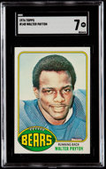 Football Cards:Singles (1970-Now), 1976 Topps Walter Payton #148 SGC NM 7....