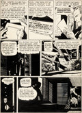 Original Comic Art:Panel Pages, Alex Toth and Sy Barry World's Finest Comics #66 Story Page 5 Original Art (DC, 1953)....