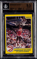 Basketball Cards:Singles (1980-Now), 1983-84 Star All-Rookies Dominique Wilkins #8 BGS Gem Mint 9.5....