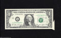 Error Notes:Attached Tabs, Fr. 1908-L $1 1974 Federal Reserve Note. Very Fine....