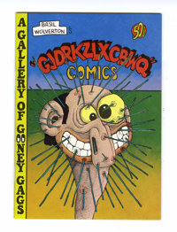 Gjdrkzlxcbwq Comics #1 (Glenn Bray, 1973) Condition: NM-