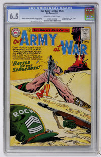 Our Army at War #128 (DC, 1963) CGC FN+ 6.5 Off-white to white pages
