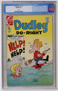 Bronze Age (1970-1979):Cartoon Character, Dudley Do-Right #1 (Charlton, 1970) CGC VF/NM 9.0 White pages....