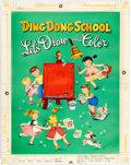 Original Comic Art:Covers, Whitman Artist Ding Dong School - Let's Draw and ColorIllustration Original Art Group of 35...