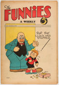 Platinum Age (1897-1937):Miscellaneous, The Funnies #33 (Dell, 1930) Condition: VG+....