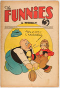 Platinum Age (1897-1937):Miscellaneous, The Funnies #32 (Dell, 1930) Condition: VG....