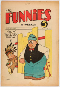 The Funnies #34 (Dell, 1930) Condition: VG-