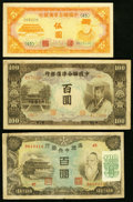 World Currency, China Group of 3.. ... (Total: 3 notes)