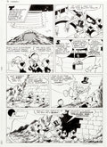 Original Comic Art:Panel Pages, William Van Horn Anders And & Co. [Donald Duck andCompany] #1994-41 Story Page 18 Original Art (Egmont, 1994)....
