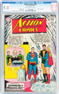 Silver Age (1956-1969):Superhero, Action Comics #307 (DC, 1963) CGC VF/NM 9.0 Off-white to whitepages....